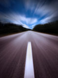 Highway/motion blur Stock Images