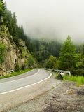 Highway on mountains Stock Image