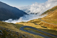 Highway in mountains Stock Photo