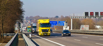 Highway A 8, near Wendlingen Stock Photography