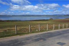 Highway near the Yaohe river Stock Photo
