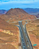 Highway in Nevada Royalty Free Stock Photography