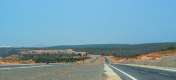 Highway in Nha Trang, Vietnam royalty free stock photography