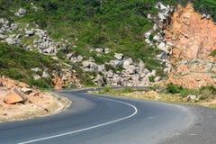 Highway in Nha Trang, Vietnam royalty free stock photos