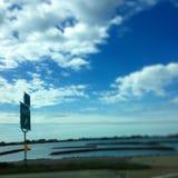 highway nieba Zdjęcia Royalty Free