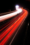 Highway night 2 Royalty Free Stock Images