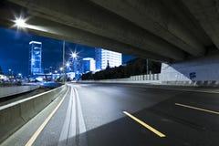 Highway at Night Royalty Free Stock Image