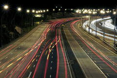 Highway At Night. Sydney, Australia Royalty Free Stock Photography