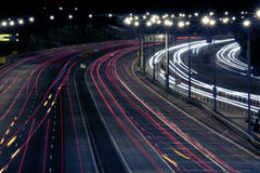 Highway At Night. Sydney, Australia Stock Photography