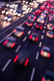 Highway by night Royalty Free Stock Photo