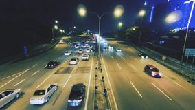 Hyperlapse in motion stock video footage