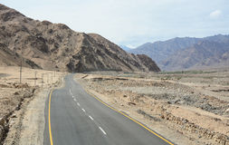 Highway No. 1 in Leh, India Stock Image