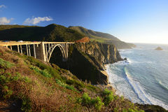 Highway one bidge Royalty Free Stock Photography