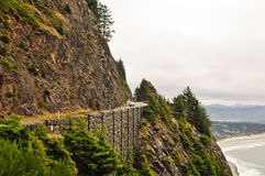 Highway 101 Oregon Royalty Free Stock Photos