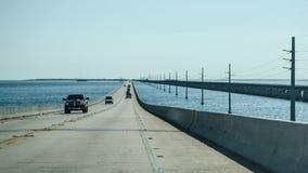 Highway over sea Stock Image