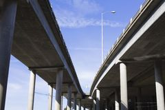 Highway Overpass Royalty Free Stock Photo