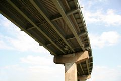 Highway Overpass Royalty Free Stock Photos