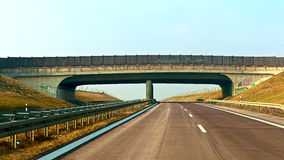 Highway overpass Stock Photo
