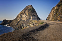Highway, Pacific Coast California Stock Photography