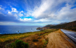 Highway 1 Pacific Coast Highway Royalty Free Stock Image