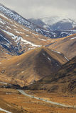Highway pass alpine mountain in waitaki district  south island n Stock Photos