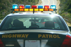 Highway Patrol Car Stock Images
