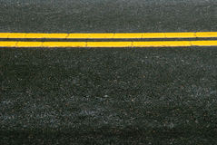 Highway Pavement Stock Photo
