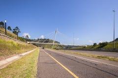 Highway Pedestrian Bridge Stock Images