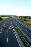 Highway in Poland Royalty Free Stock Photos