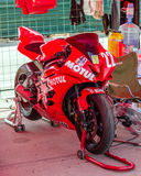 Highway-ring motorcycle races Royalty Free Stock Images