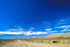 Highway road through Argentinia. Famous Ruta 40 called also Ruta Quarenta passing through some impressive and strangely shaped mountains in northern part of the Royalty Free Stock Images