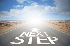 Free Highway/ Road Concept - Next Step Royalty Free Stock Photo - 182851155