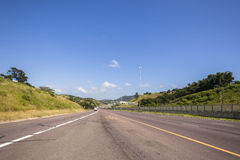 Highway Road Countryside Stock Photography