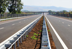Highway road empty Stock Photo