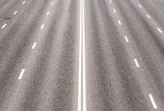 Highway with road markings Stock Photography