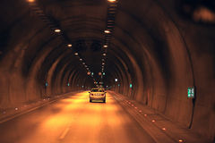 Highway road tunnel Stock Photography