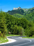 Highway in Romania royalty free stock photography