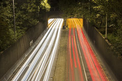 Highway in Rotterdam Stock Photography