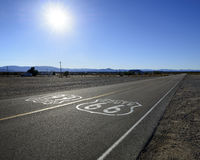 Highway Route 66 Stock Images