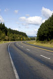Highway in Rural Area Royalty Free Stock Photography
