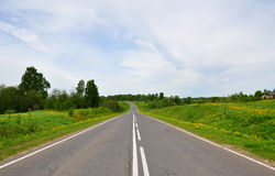 Highway in Russia royalty free stock photography