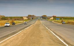 Highway of Russia Stock Photography