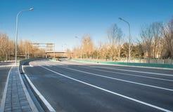 Highway scene Stock Image