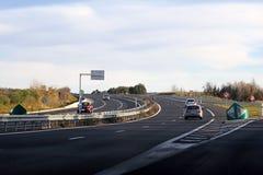 Highway Scenery Stock Image