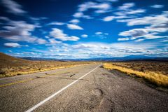 Highway 128 Royalty Free Stock Images