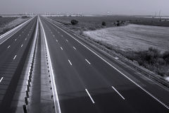 Highway seen from above Stock Photography