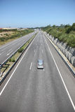 Highway with several cars Stock Images