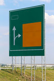 Highway sign Royalty Free Stock Photos