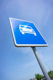 Highway sign Stock Images