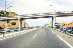 Highway In Southern Spain Royalty Free Stock Photography